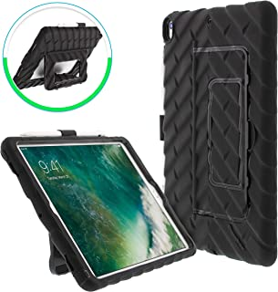 Gumdrop Cases HideAway Stand Case for Apple iPad Pro 10.5 (2017) A1701, A1709 Tablet Armor Protection, Black