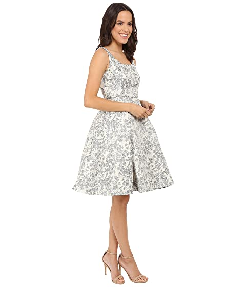 Maggy London Spring Floral Brocade Fit And Flare Dress At 6pm