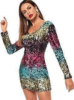 e9c4e8062dba Amazon.es: Faldas Lentejuelas - Vestidos / Mujer: Ropa