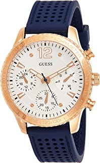 Guess Marina Women's White Dial Silicone Band Watch - W1025L4