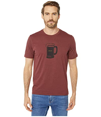 Prana Beer Belly Journeyman T-Shirt (Maple Heather) Men