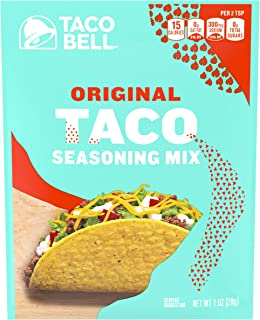Taco Bell Original Taco Seasonings Mix (1 oz Packets, Pack of 24)