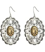 The Sak - Oval Concho Drop Earrings