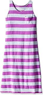 Pinkhouse 女童赛车背条纹长裙
