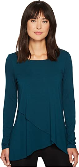 Karen Kane - Long Sleeve Asymmetric Top