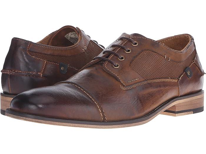 Steve Madden Men/'s Jakub Oxford Leather Lace Up Loafer Casual Comfort Walking