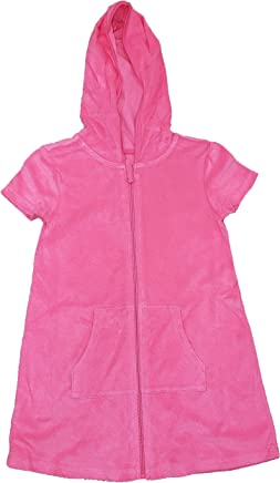 ead2ca4ecf6f9 Wonder Nation Girls Hooded Terry Swim Cover Up