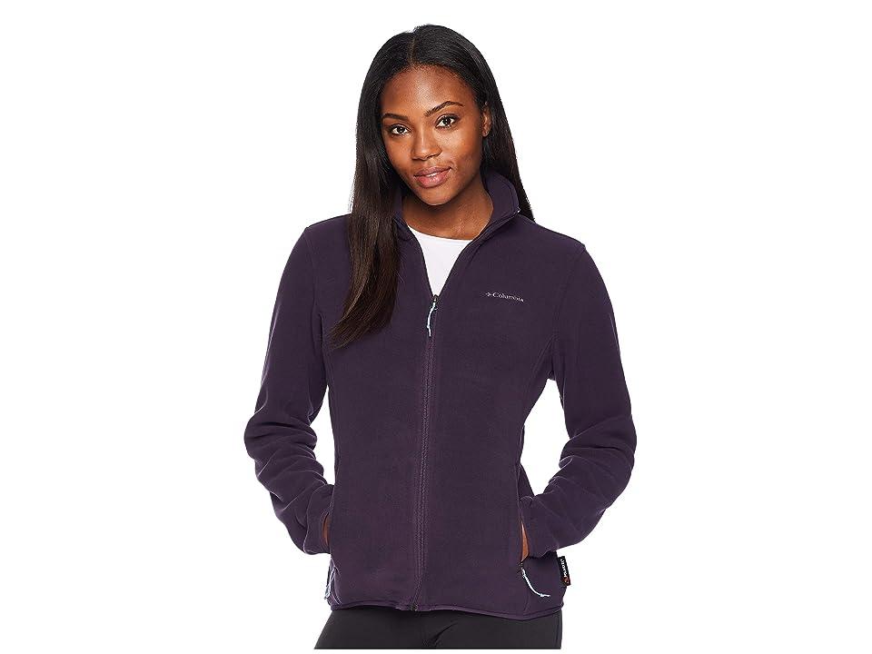 Columbia Fuller Ridgetm Fleece Jacket (Dark Plum) Women