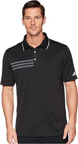 3-Stripes Pique Polo
