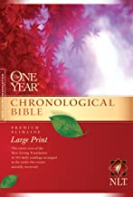 The One Year Chronological Bible NLT, Premium Slimline Large Print (Softcover) PDF