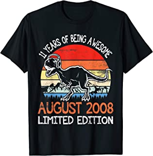 Dinosaur 11 Years Being Awesome August 2008 Limited Edition