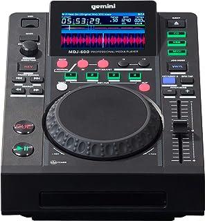Gemini MDJ-600 DJ Media Player met 4,3 inch kleurendisplay en 5 inch jogwheel
