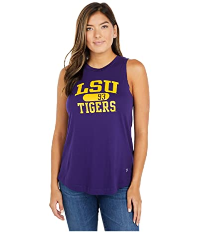 Champion College LSU Tigers University 2.0 Tank Top (Champion Purple) Women