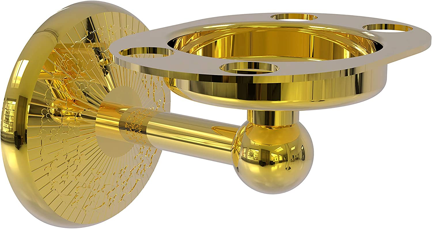Allied Brass Monte New Free Shipping Max 72% OFF Carlo Collection Toothbrush Holder Tumbler P