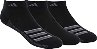 adidas Men's Superlite Stripe No Show Socks (3-Pair)