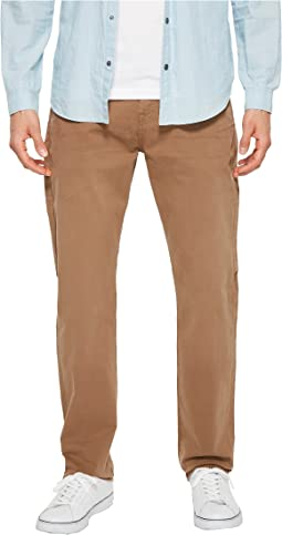 7 For All Mankind - The Straight Tapered Straight Leg w/ Clean Pocket in Rich Khaki