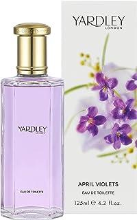 Yardley Eau de Toilette for Women, April Violets, 125ml