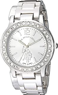 Women's Analog-Quartz Watch with Alloy Strap, Silver,...