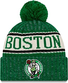 New Era Boston Celtics 2019 Sideline Home Pom Sport Knit Hat