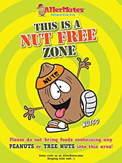 nut allergy posters for school