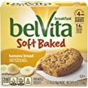30-Packs belVita Soft Baked Banana Bread Flavor Breakfast Biscuits