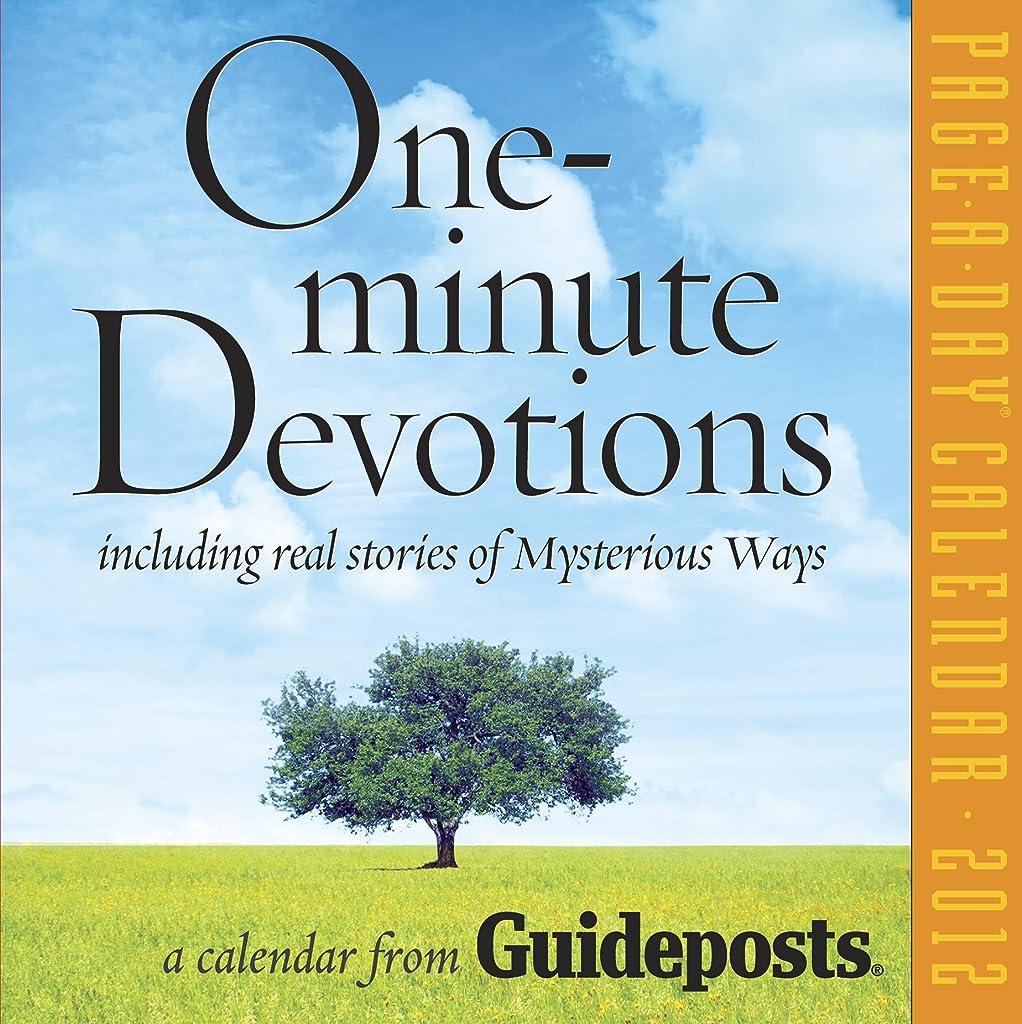 習熟度しばしば急行するOne-Minute Devotions 2012 Calendar (Page a Day Calendar)