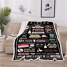LOVINSUNSHINE Friends Tv Show Sherpa Blanket The Office Gifts for Women Tv Show Blankets Friends Tv Show Blanket Friends T...