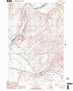 YellowMaps Logan MT topo map, 1:24000 Scale, 7.5 X 7.5 Minute, Historical, 1987, Updated 1988, 26.9 x 22 in