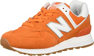 new balance femme orange fluo