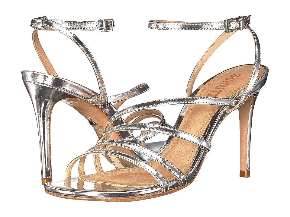 Schutz Claudya (Prata) High Heels