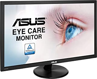 ASUS VP247HAE 23.6-inch Full HD Eye Care Monitor, Flicker Free, Blue Light Filter, Anti Glare, Black