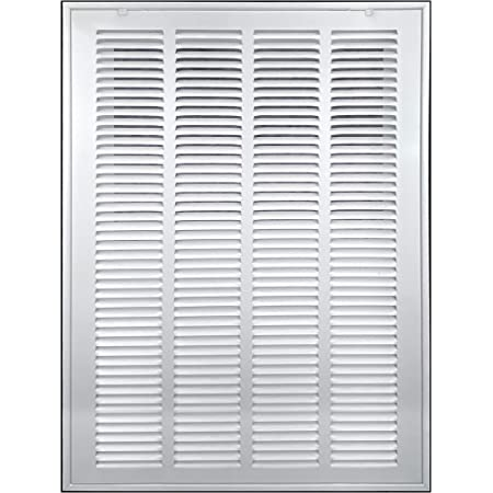 May be painted or stained Details about  /Wood return Air Grill 16x25 Air Filter White Poplar