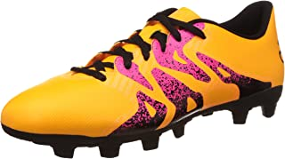 adidas Performance Mens X 15.4 FxG Lace Up Football Boots - Gold
