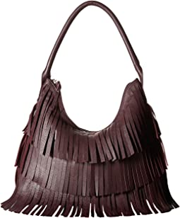 Scully - Feel Good Purple Fringe Bag