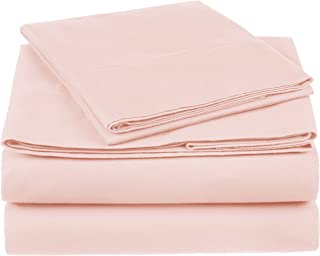 blush pink sheets queen