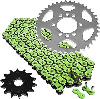 Caltric Green O-Ring Drive Chain /& Sprockets Kit for Honda Trx300Ex Trx-300Ex Fourtrax 1993-2008