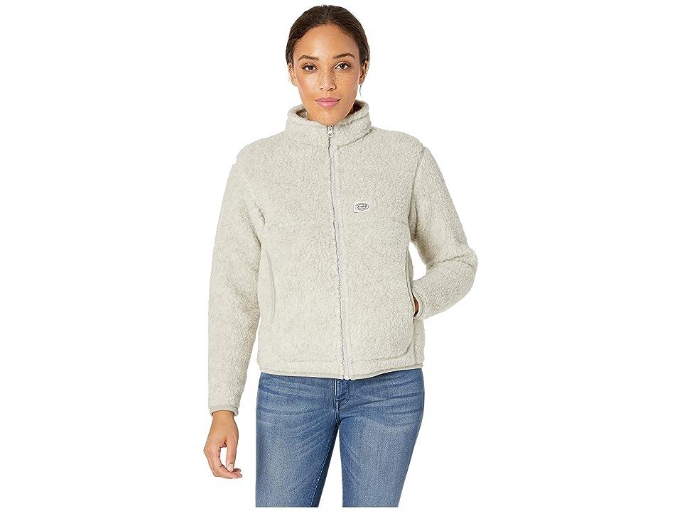 Snow Peak Wool Fleece Jacket (White) Women