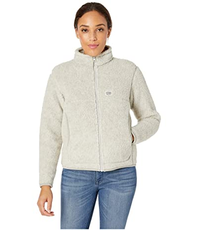 Snow Peak Wool Fleece Jacket (White) Women