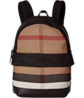 Burberry Kids - Tiller Check Backpack
