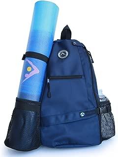 Aurorae Yoga Mat Bag. Multi Purpose Cross-Body Sling Back Pack. Mat Sold Separately.