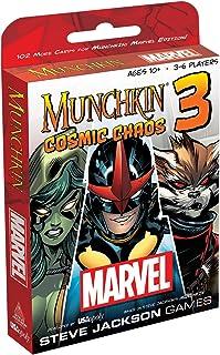 USAopoly MU011-438 Munchkin Marvel Cosmic Chaos Strategy Game