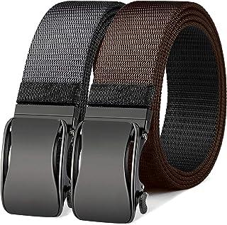 Cinturón de trinquete reversible, Bulliant Cinturón deportivo de golf para hombre para pantalones vaqueros casuales, un ci...