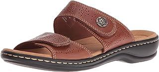 Clarks Women's Leisa Lacole Slide Sandal, 0