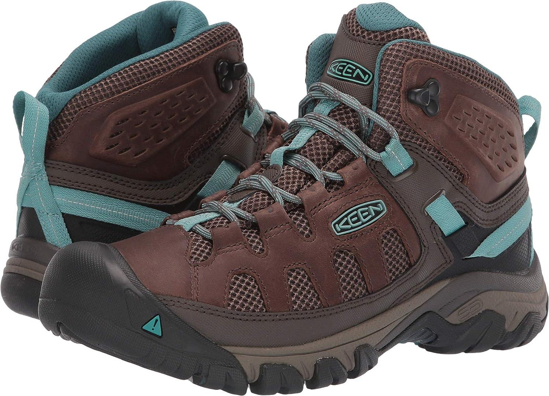 Grönt Kvinnors Targhee Targhee Targhee Vent Mid Hiking Boot  med 100% kvalitet och% 100 service