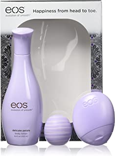 Eos Evolution of Smooth Delicate Petals Body Lotion 3-Piece Gift Set