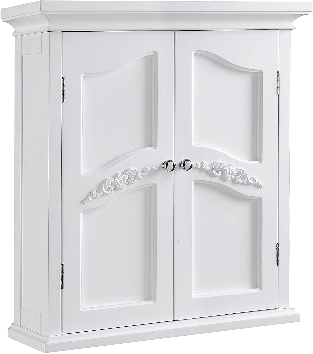 Elegant Directly managed store Home Fashions Versailles Wall Bathroom Mounted San Antonio Mall K Cabinet