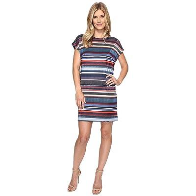 Nally & Millie Reversible Printed Dress (Multi) Women