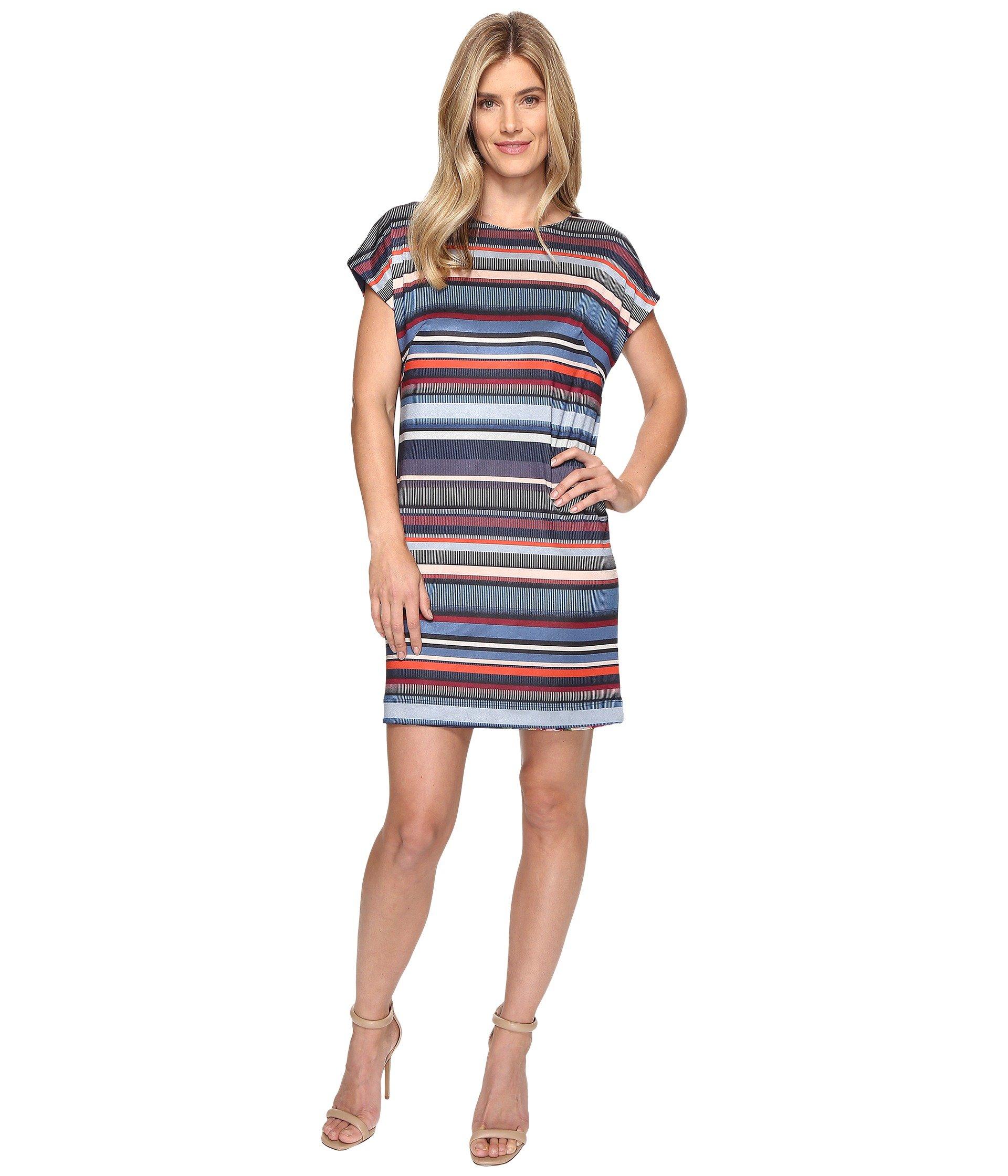 NALLY & MILLIE Reversible Printed Dress, Multi