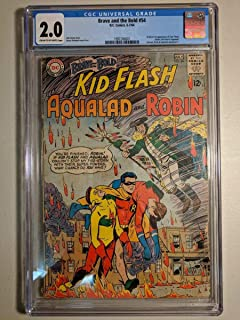 CGC 2.0 BRAVE AND THE BOLD #54 D.C. COMICS 1964 ORIGIN 1ST APPEARANCE TEEN TITAN