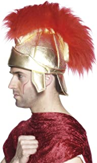 Smiffy's Men's Roman Soldiers Helmet with Plume